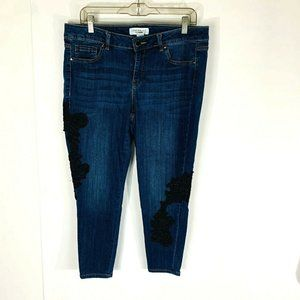 Lane Bryant Mid Rise Super Stretch Skinny Womens S